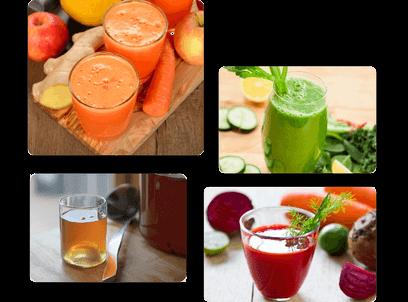 Formules diététiques - Jus