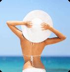 Femme heureuse - Séjour Detox aux Antilles