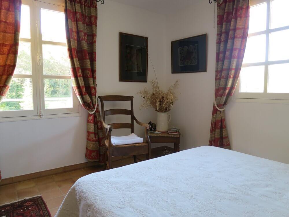 Chambre lit double Provence