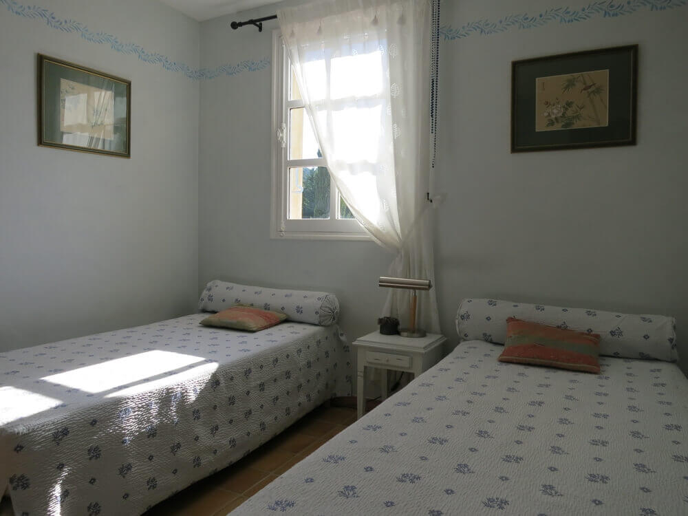 Chambre lits simples Provence