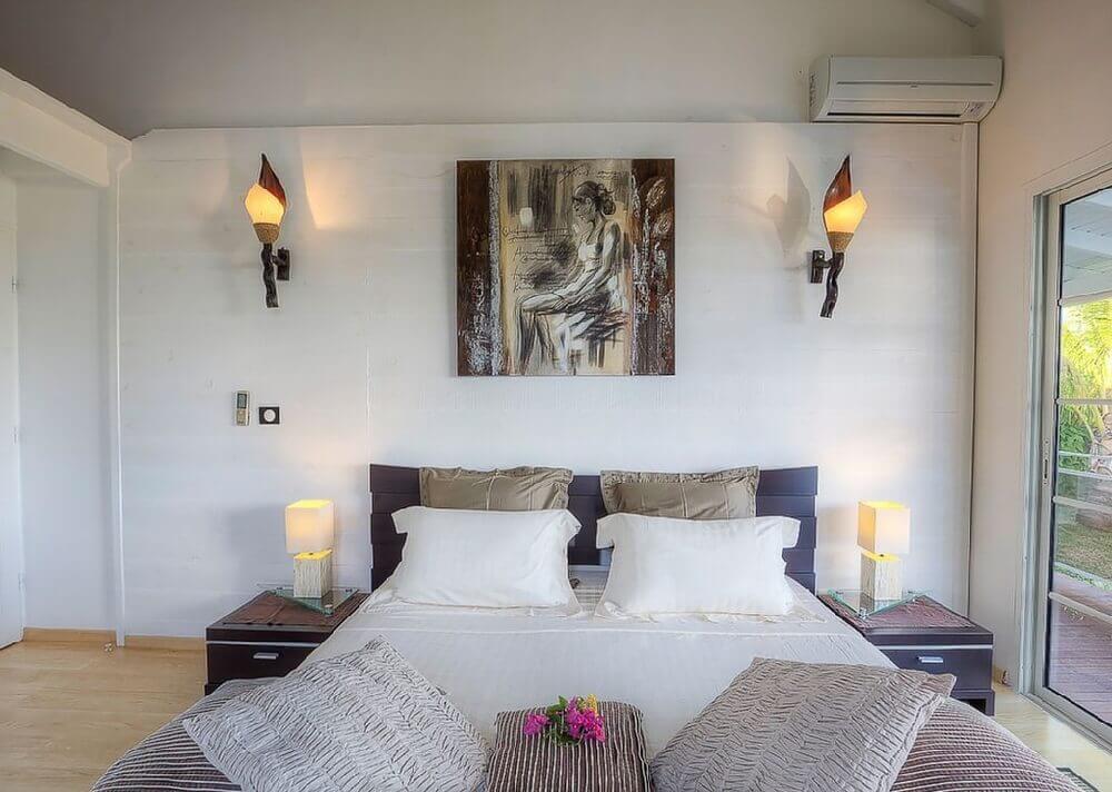 Chambre lit double Antilles LA1