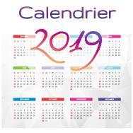 Calendrier des cures détoc Pure Detox en 2019