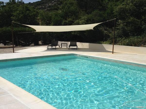 Pure Detox - Claps - Vue piscine Ouest